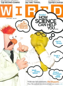 Wired magazine November 2011 cover