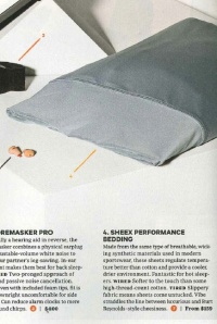 Wired magazine November 2011 SHEEX review
